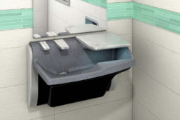 """The all-in-one"""" Advocate Lavatory System from Bradley Corp. was honored with the 2012 Good Design Award."""
