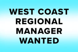 WEST COAST REGIONAL MANAGER WANTED