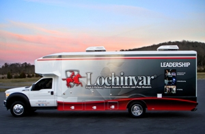 Lochinvar product showcase truck