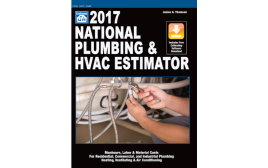 2017 National Plumbing & HVAC Estimator Book